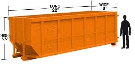 40 yard dumpster miami